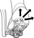 smsh56 shimano bisiklet gezgini pedal
