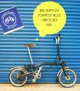 Brompton Tempest Blue Brooks H6L