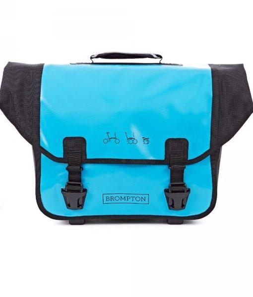 brompton o bag lagoon blue